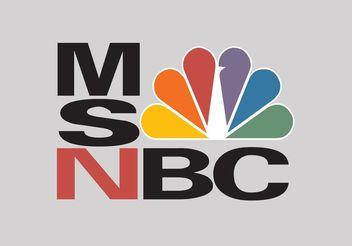 MSNBC Vector Logo - vector #140435 gratis