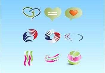 Vector Logo Symbol Pack - Free vector #140495