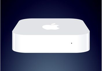 Apple Airport Express - vector #140545 gratis