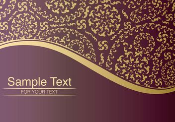 Vintage Paisley Background - Free vector #141455