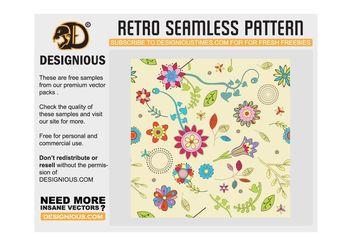 Seamless Retro Vectors - Free vector #141485