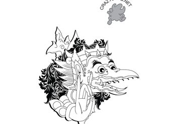 ornamental eagle - vector #141555 gratis