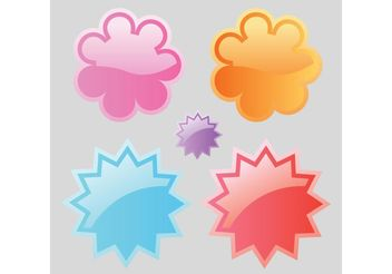 Web Badges - vector #141625 gratis