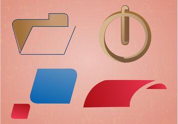 Minimal Logo Pack - бесплатный vector #142395
