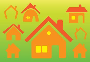 Home Vector Icons - Free vector #142595