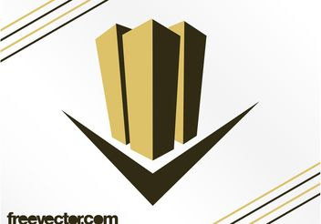 Skyscrapers Logo Design - бесплатный vector #142675