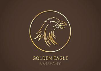 Free Golden Eagle Vector Logo - Free vector #142785