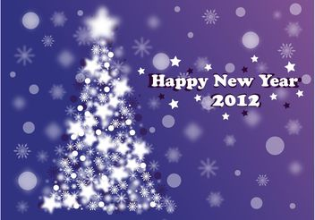 Christmas New Year Design - Free vector #143145