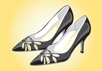 Elegant Shoes - vector gratuit #143215