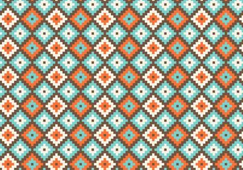 Free Native American Geometric Seamless Vector Pattern - Free vector #143555