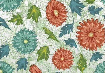 Floral Pattern - Kostenloses vector #143895