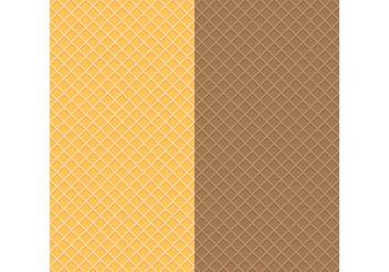 Waffle Textures - Kostenloses vector #144195