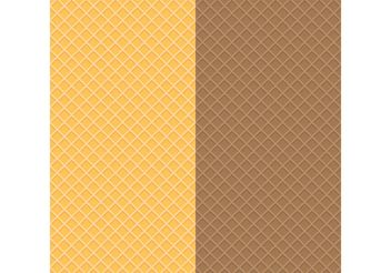 Waffle Textures - бесплатный vector #144195
