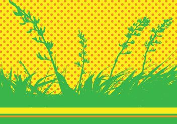 Nature Vector Pop Art - vector gratuit #144545