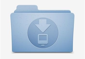 Download Folder Icon - vector #144655 gratis