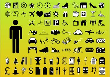 Icons Pack - Free vector #144765