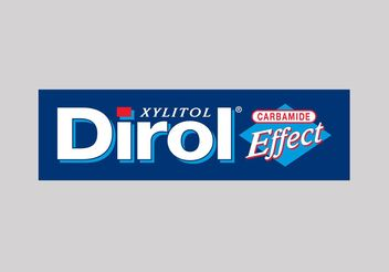 Dirol Vector Logo - Free vector #144965