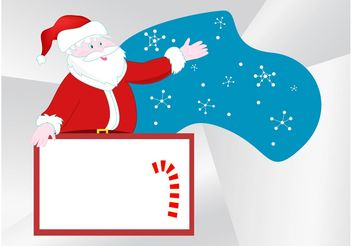 Santa Claus Layout - vector gratuit #145045