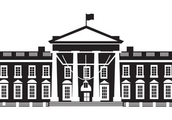 The White House Vector - Kostenloses vector #145115