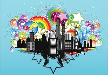 City Design - vector gratuit #145205