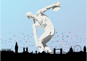 London Olympic Games - бесплатный vector #145215