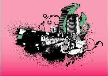Street Art Graphics - vector #145225 gratis