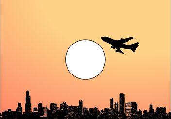 Sunny City - Free vector #145355