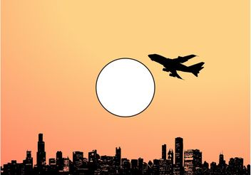 Sunny City - Kostenloses vector #145355