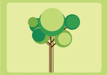 Nature Tree Vector - Free vector #145515