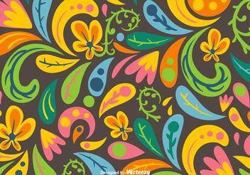 Organic Flourishes - Free vector #145545