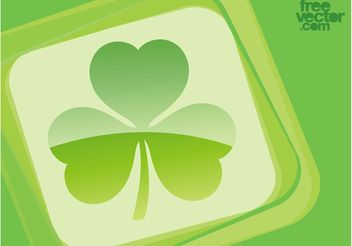Clover Leaf Vector - бесплатный vector #145695