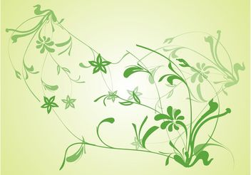 Green Plants - vector gratuit #146115