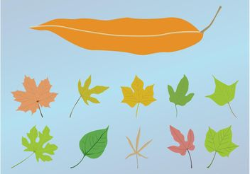 Leaves Designs - Free vector #146145