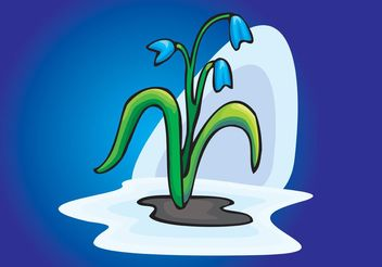 Spring Snowdrop Flowers - Kostenloses vector #146245