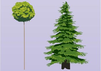 Trees Vectors - Kostenloses vector #146365