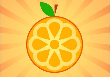 Orange Icon - vector #146915 gratis