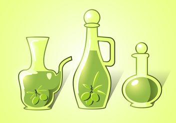 Olive Oli Vectors - Free vector #147345