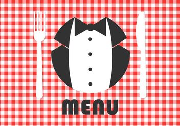 Free Menu Card Vector Design - Free vector #147445