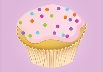 Sweet Cupcake - Free vector #147465