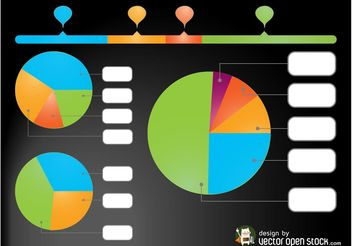 Vector Charts - vector gratuit #147755
