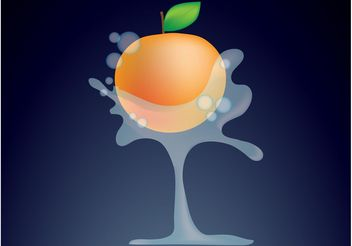 Peach - Kostenloses vector #147855