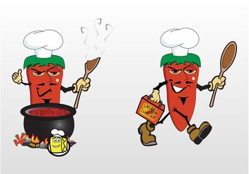 Chili Soup - Free vector #147875