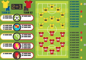 Soccer Vector Graphics - Free vector #148175