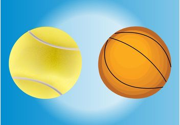 Balls Vectors - Free vector #148255