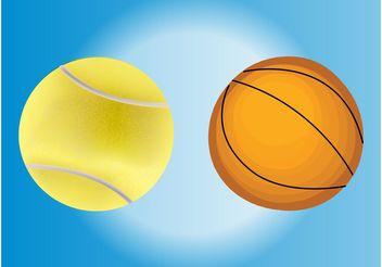 Balls Vectors - Kostenloses vector #148255