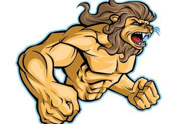 Vector Lion Sports Mascot - Kostenloses vector #148375