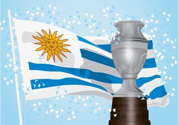 Uruguay Victory - Kostenloses vector #148475