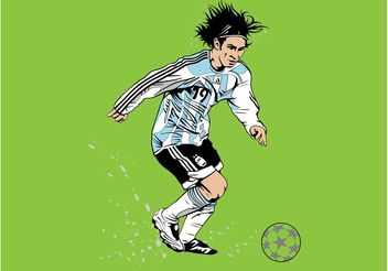 Messi Vector - Free vector #148865