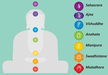 Vector Buddha Chakras - vector gratuit(e) #150235