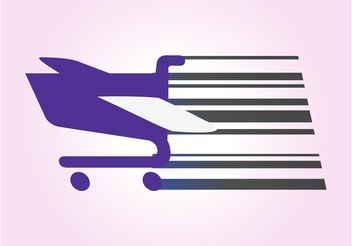 Shopping Cart Vector - vector gratuit #150285